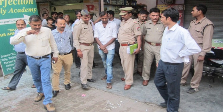 The bribe of making a fake mark-sheet busted, two arrested