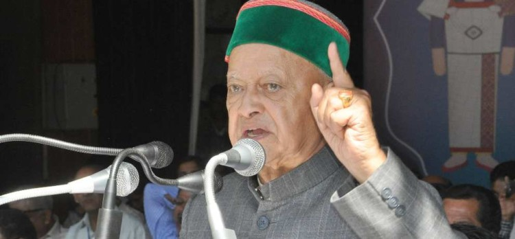 sycophant will be expelled from congress: virbhadra singh