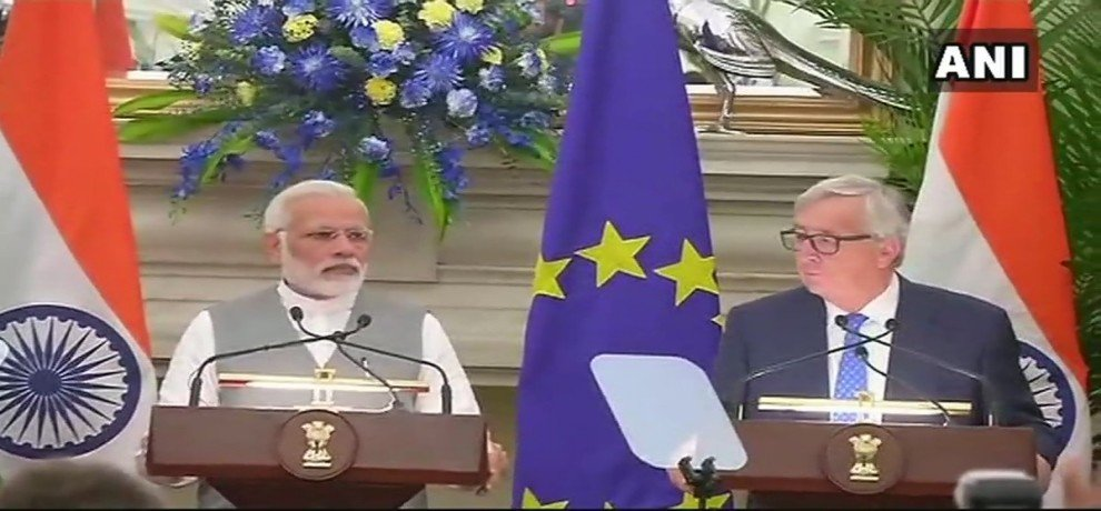 The issue of terrorism raised in India-EU joint press conference