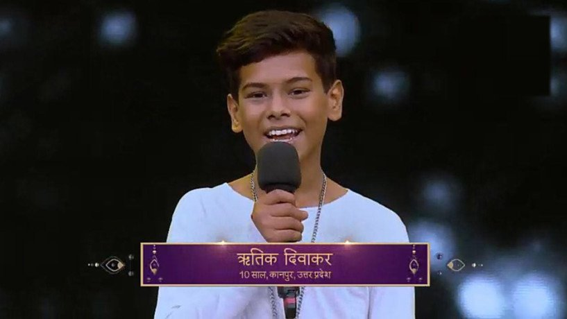 ritik from kanpur in top 10 of super Dancer Chapter two