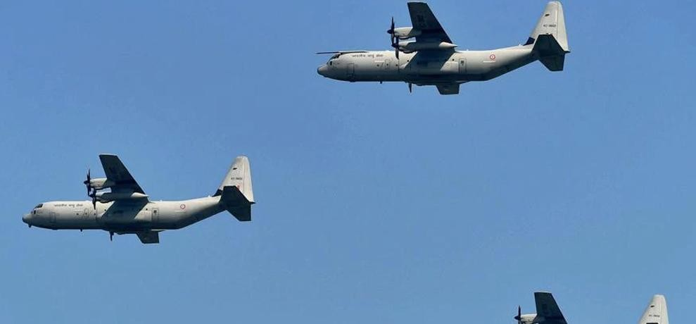 IAF says C-130j super hercules play vital role in conflicts