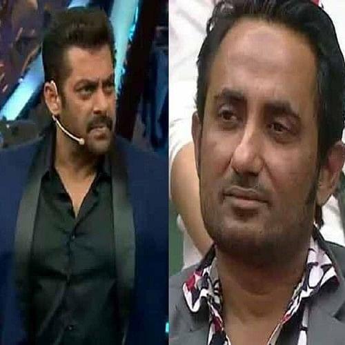 salman khan was angry on zubair khan in weeked ka war at bigg boss 11