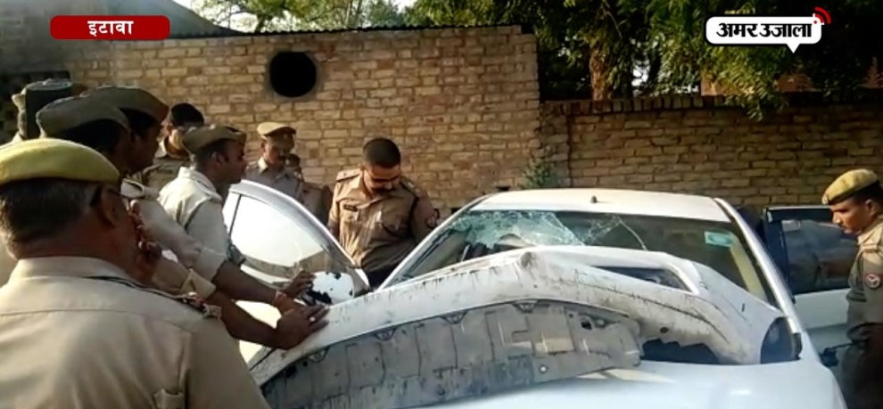 238 kg of illegal silver recovered from a car crash in etawah
