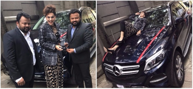 Taapsee Pannu Mercedes-Benz GLE