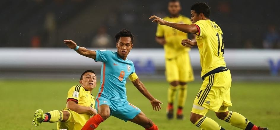 FIFA U-17 World Cup: Colombia defeated host india by 2-1 despite good show
