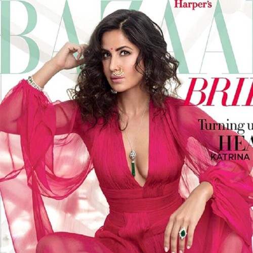 Katrina Kaif latest magazine photoshoot for harpers bazaar brides
