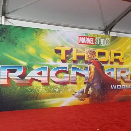 Thor Ragnarok Premiere in Los Angeles