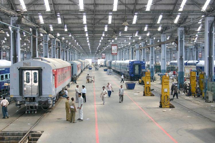 Bihar: Engine Construction Has Started In Madhepura Rail ...
