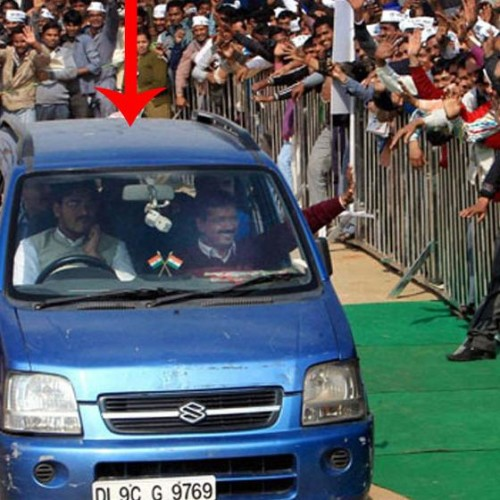 Arvind kejriwal blue car stolen from delhi secretariat