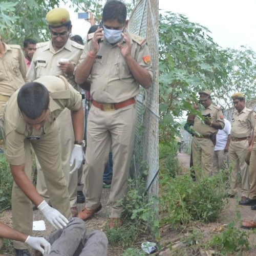 dead body found in chinhat in Lucknow.