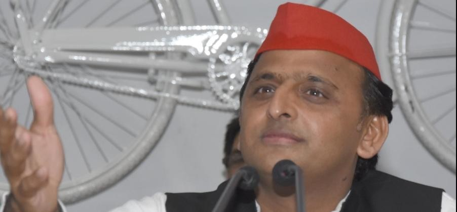 akhilesh yadav attacks on BJP over alleged corruption case of amit shah's son.