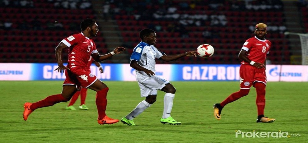 FIFA U-17 world cup Honduras defeated New Caledonia BY 5-0