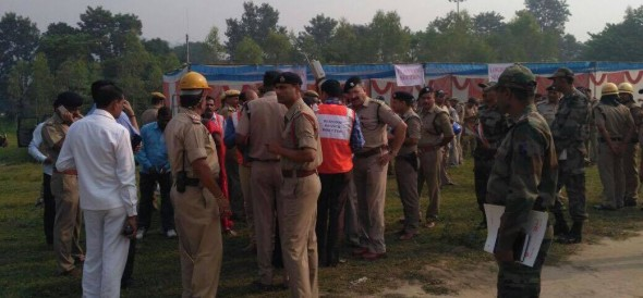 earthquake mock drill became real after fire in house chamoli