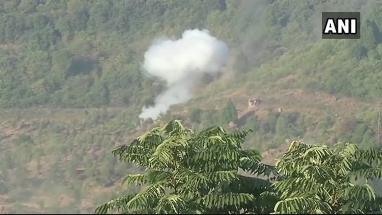 CEASEFIRE VIOLATION BY PAK IN KARMAR SECTOR OF POONCH