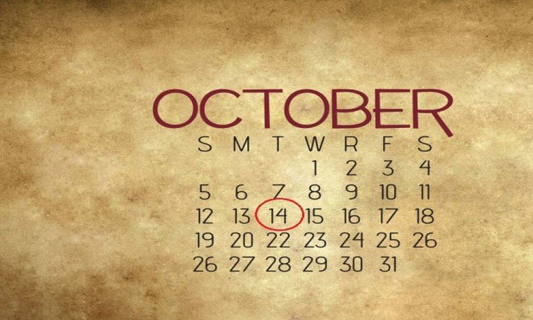14 of october numerology