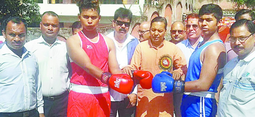 pithoragarh dominates in boxing