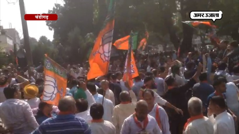 BJP Protest against killing of Sangh-BJP workers in Kerala