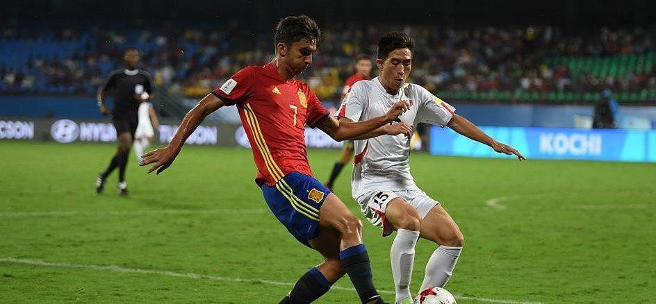 FIFA U-17 WC: उत्तर कोरिया को मात देकर, ग्रुप डी में टॉप पर रहा स्पेन