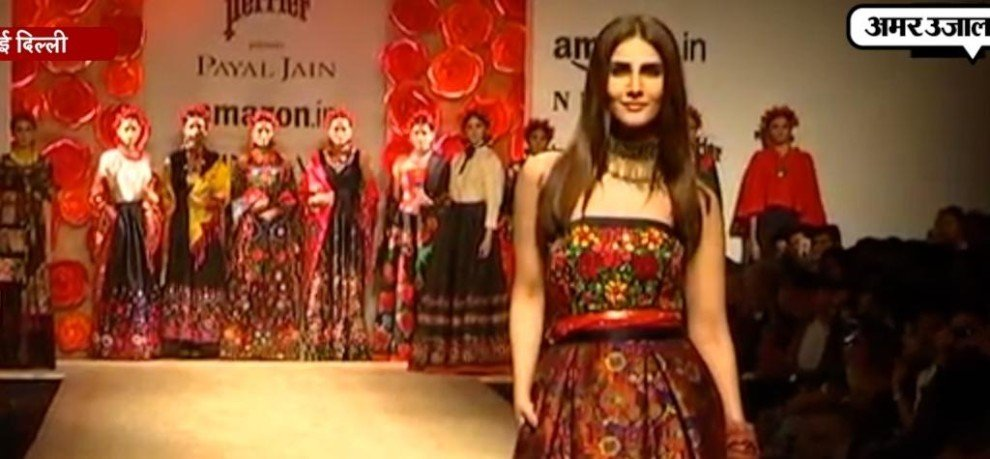 Anju Modi showcases 'Swadeshi' collection on day 4 of Amazon India Fashion Week
