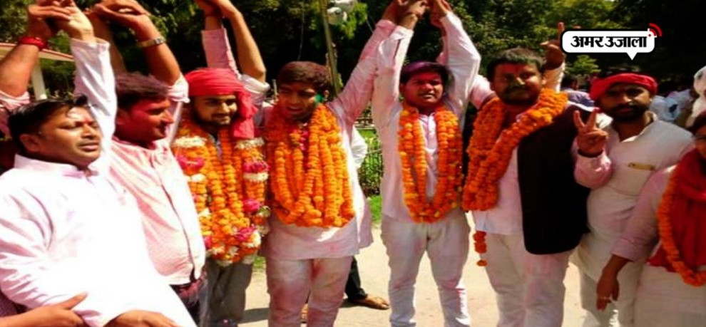 result of students union election in Allahabad university declared