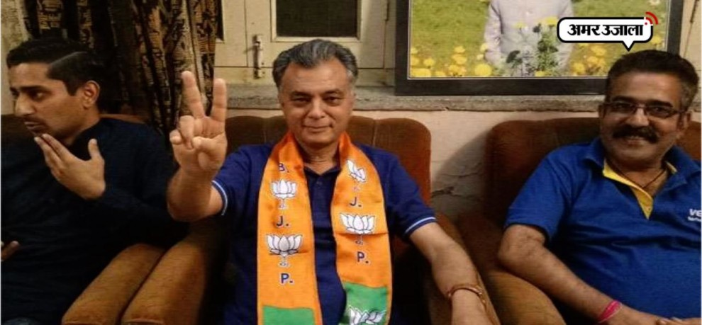 Anil Sharma joins BJP, including father and son in himachal pradesh
