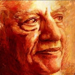 when a girl runs behind noted shayar Faiz ahmad faiz