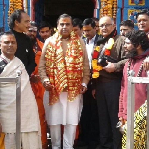 mukesh ambani gave gift to badrinath kedarnath dham on diwali