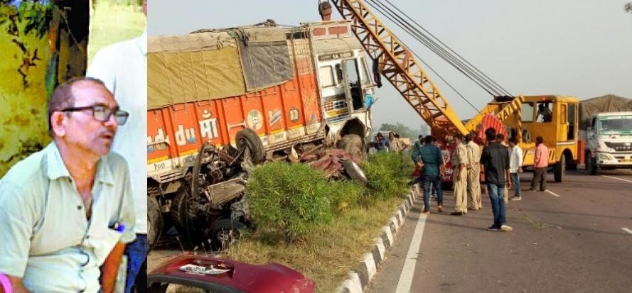 six died in bachhrawan accident in raebareli.