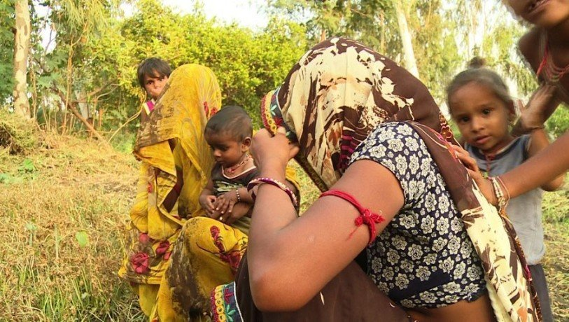 Women started a unique movement in this village, demands for Toilets