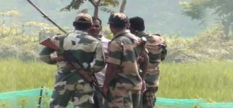 District youth arrested on Rajasthan border