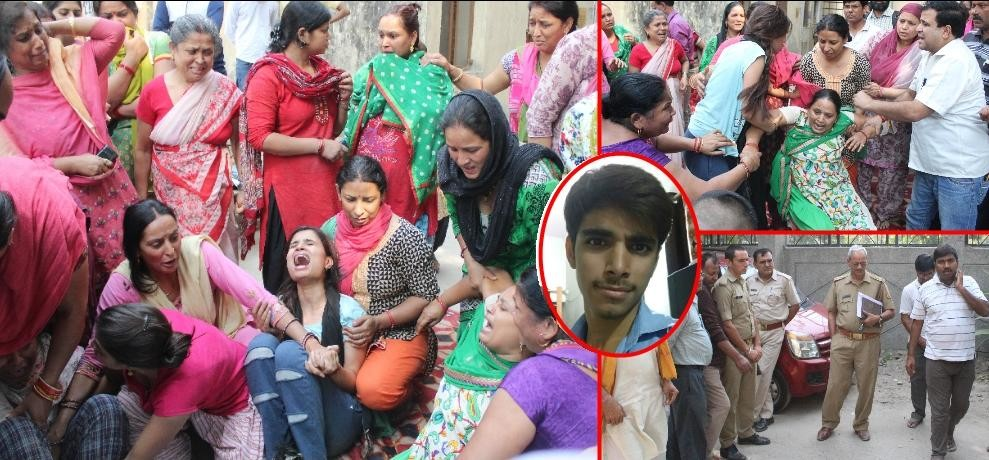 vivan killed in noida after scooty loot, he was only son among 4 daughters in family