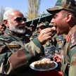 Narendra modi celebrate diwali with jawans
