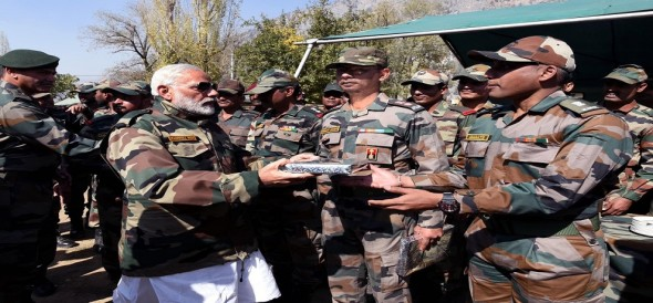pm narendra modi to celebrate this diwali with jawans at the border
