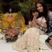 AMITABH BACHCHAN CELEBRATED HIS DIWALI WITH GRAND DAUGHTER ARADHYA