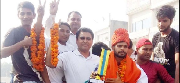 faridabad's sagar wins boxing competition in Philippines