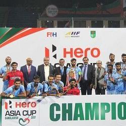 एशिया कप हॉकी: भारत ने तीसरी बार जीता खिताब, फाइनल में मलेशिया को दी 2-1 से मात