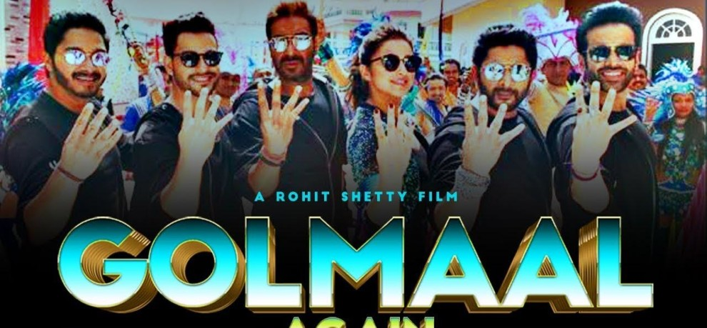 Rohit Shetty film Golmaal Again day 4 Box Office Collection