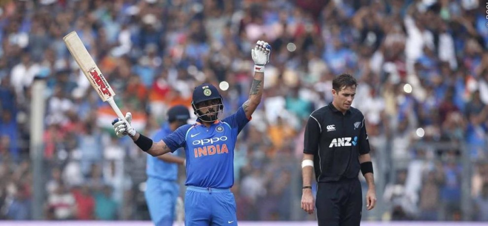 Virat Kohli becomes the second batsman to score a century in career's 200th ODI  de Villiers.