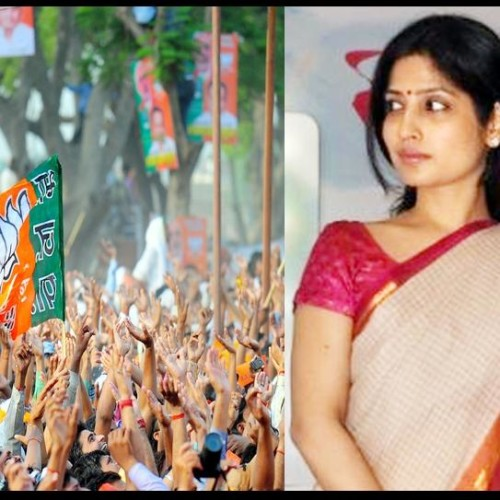 BJP is planning to defeat dimple yadav.