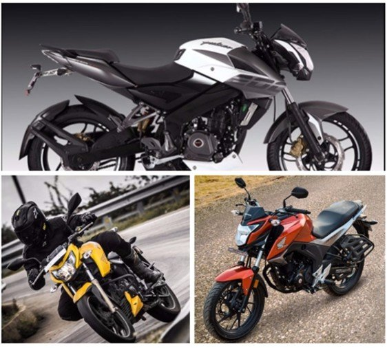 Top 5 bikes under 1 lakh in 2017