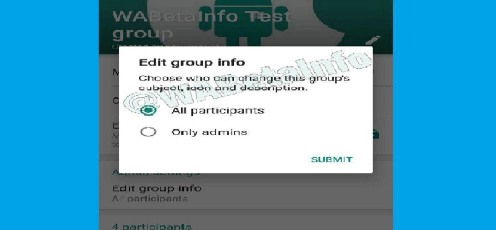 WhatsApp gives more power to group admin