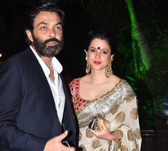 Bobby Deol Wife Tanya Ahuja More Beautiful Than Actress कस