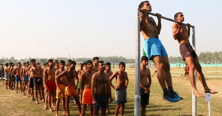 Indian Army Training Camp In Ludhiana - भारतीय