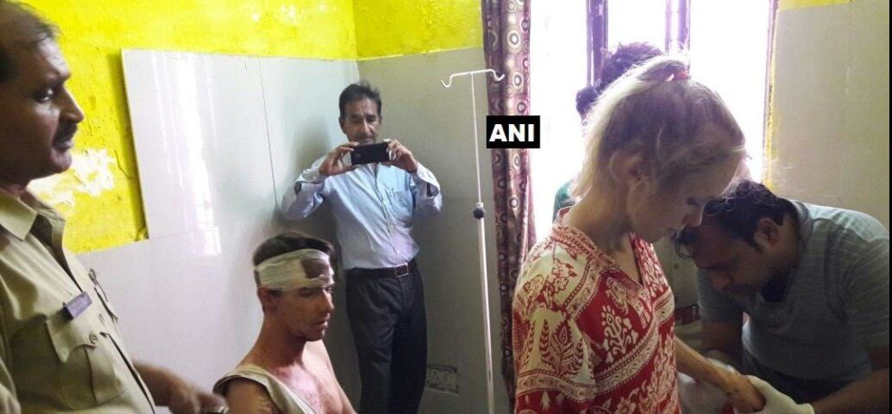 Image result for swiss tourists attacked in up