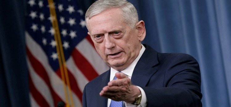 US Secretary of Defense said, our goal is not war with north korea