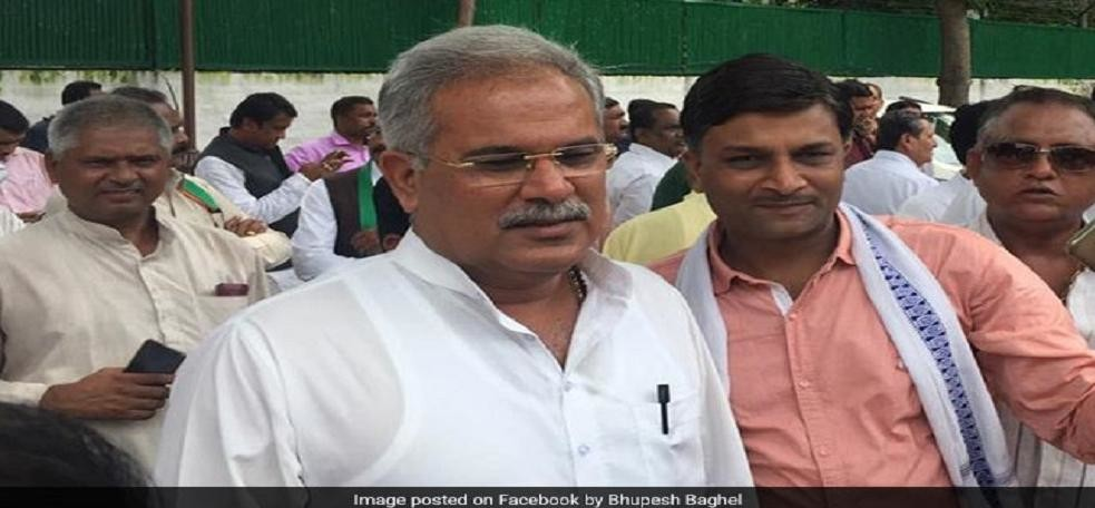 Chhattisgarh police on Friday evening booked state Congress chief Bhupesh Baghel