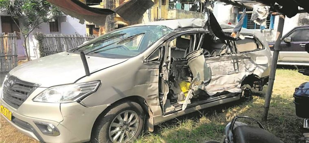 Myanmar consul General died in road accident in Jharkhand