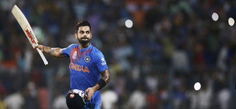 virat kohli on the top while pak team in apex at icc t-20 ranking