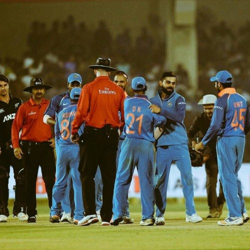 Since 2016  India have won all the seven series-deciders in limited-over Internationals
