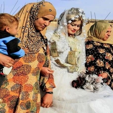 see pictures, After the disappearance of ISIS in Raqqa, wedding beats echoed